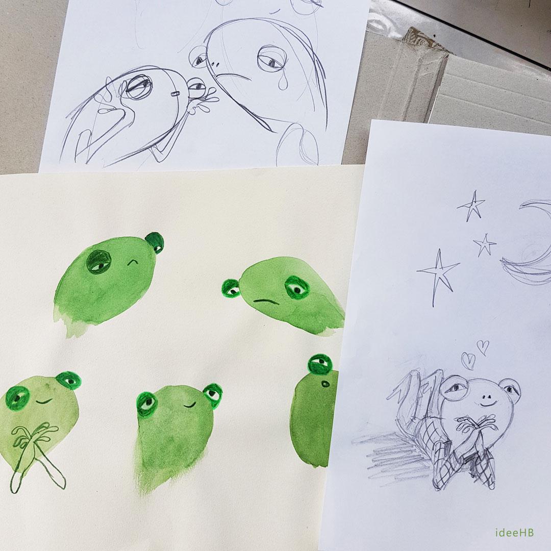 frog character
