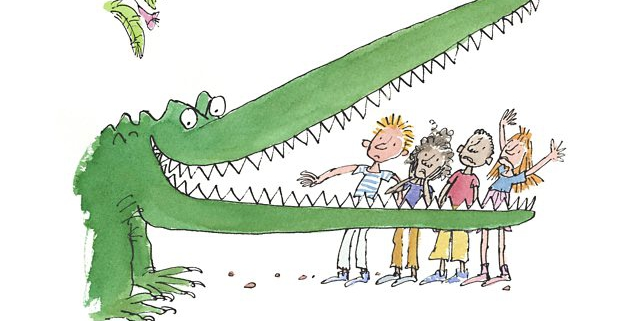 Quentin blake crocodile