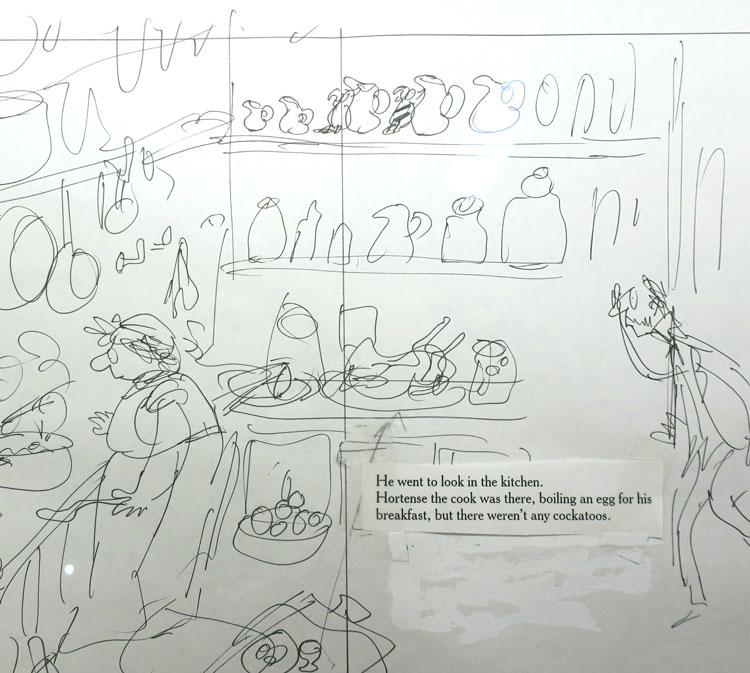 Quentin Blake sketch