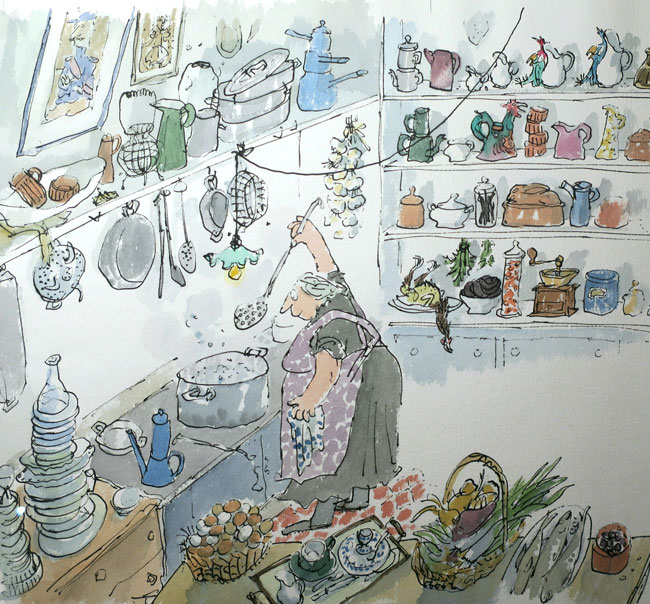Quentin Blake drawing tips