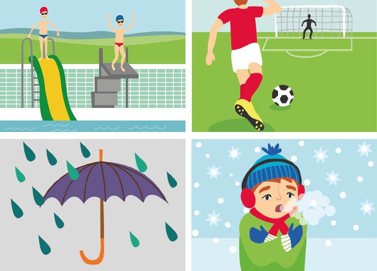 vector illustrations sport