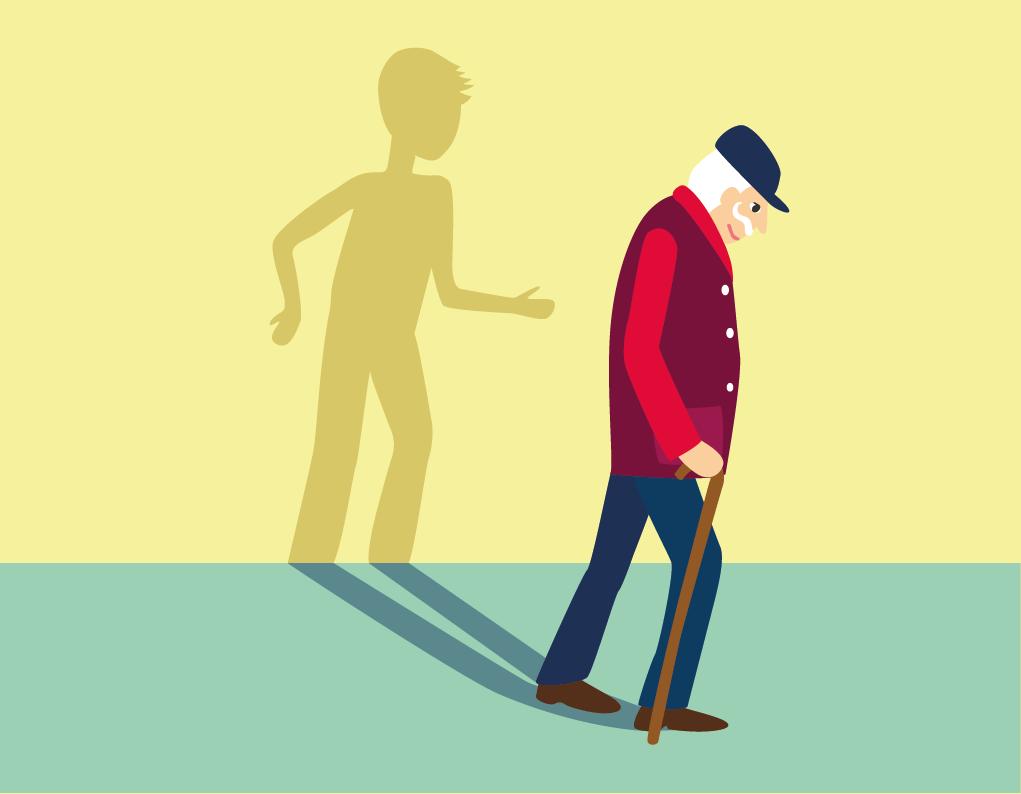 old age illustration